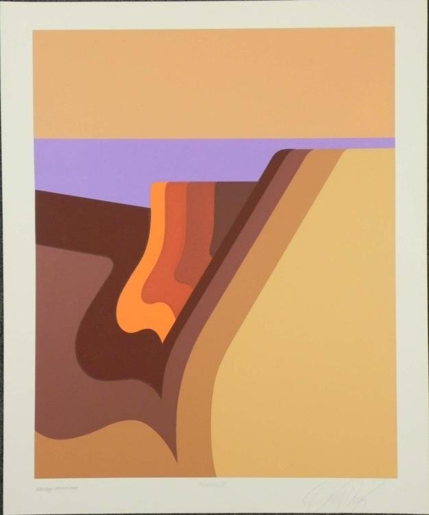 Doug Danz Signed Landscape Proof Print Elevation III
