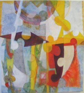 Mary Anne Rose: Fractures Acrylic on Canvas