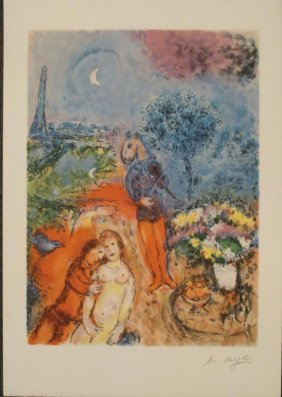 Marc Chagall Serenade Art Print Limited Edition