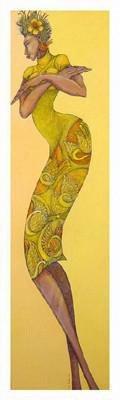 Charles Bibbs : Long Leg Birds Signed Lithograph