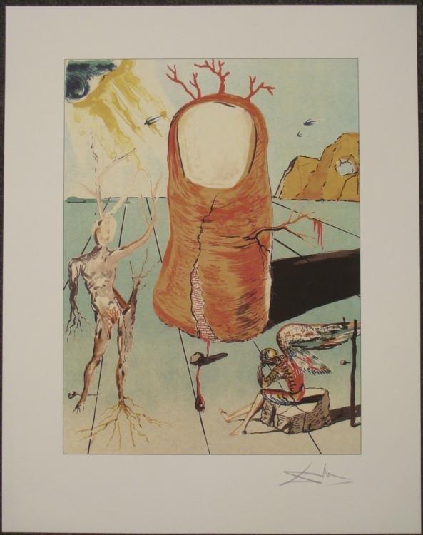 Salvador Dali : The Thumb Surrealistic Art Print