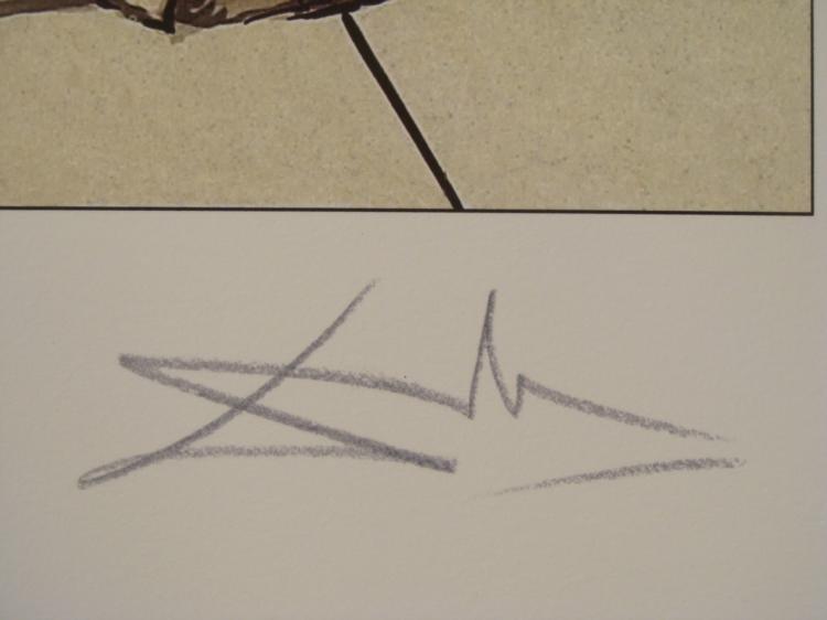 Salvador Dali : The Thumb Surrealistic Art Print - 3