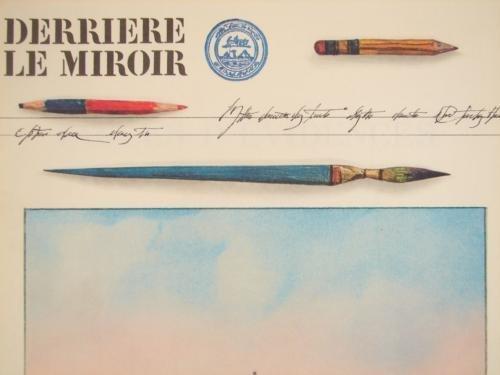 Derriere Le Miroir 1973 STEINBERG DLM 205 Art Prints - 2