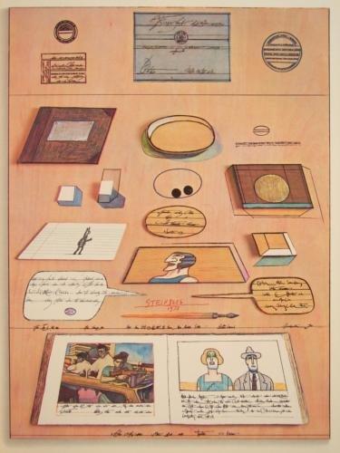 Derriere Le Miroir 1973 STEINBERG DLM 205 Art Prints - 8