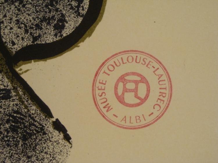 Henri de Toulouse-Lautrec Jane Avril Moulin Rouge Print - 3