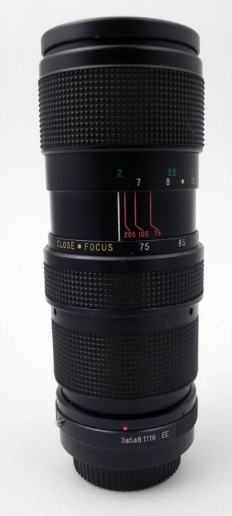 Vivitar 75-205mm 1:3.8 Auto Zoom Lens for Olympus