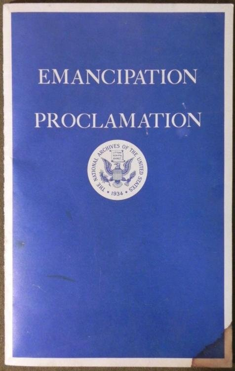 GROUPING EMANCIPATION PROCLAMATION BILL OF RIGHTS 1960
