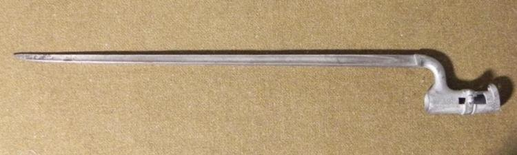 BRITISH SOCKET BAYONET-MODEL 1895 MARKED, REGIMENTALS