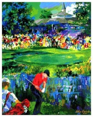 Signed Neiman VALHALLA PGA GOLF Limited Ed Art Print
