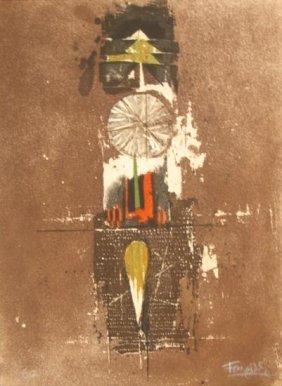 Johnny Friedlaender Fine Art LE PRINT Yvan Goll 1973