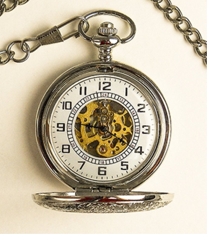 Man's Pocket Watch (hand Crafted)