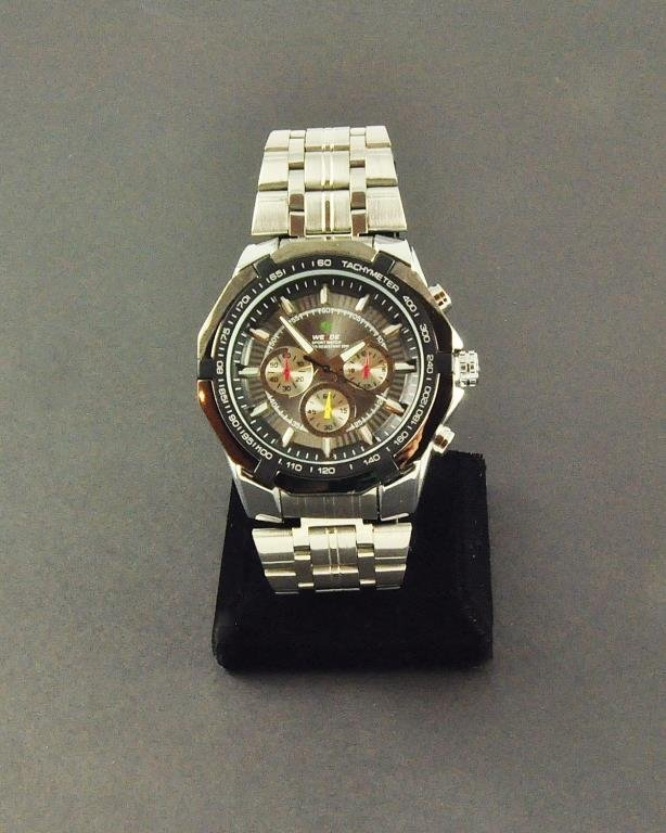 Men's Stainless Steel Analogue Sports Watch