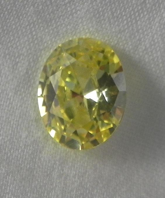 4.3 Ct. Natural Yellow Oval Gemstone