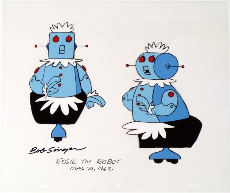 Original Signed Bob Singer The Jetsons 1962 Cel
