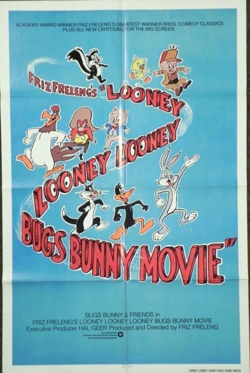 Friz Frelengs Looney Looney Bugs Bunny Movie Poster