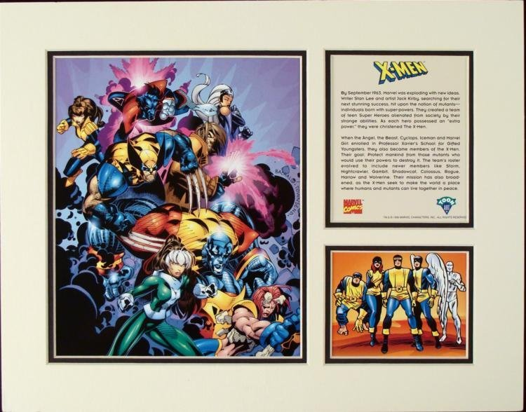 X-MEN Limited Edition Collectible Toon Art Marvel