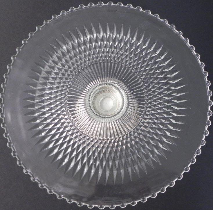 Duchin Creations Crystal & Sterling Silver Cake Stand - 2