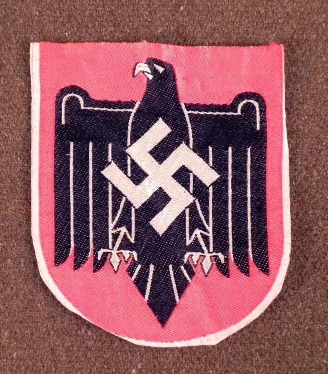ULTRA-RARE NAZI BEVO- OFFICIAL SPORTS PATCH