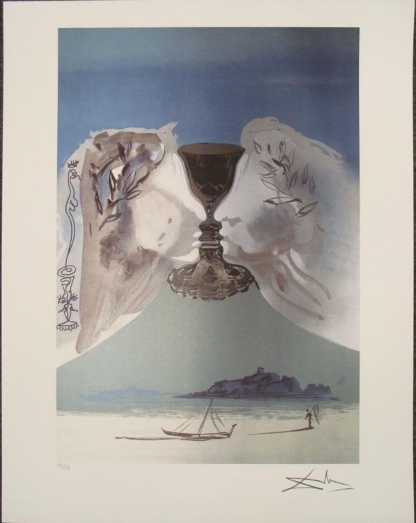 Salvador Dali : Chalice of Love Art Print