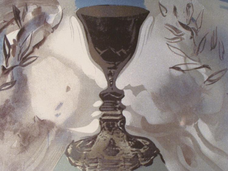 Salvador Dali : Chalice of Love Art Print - 2