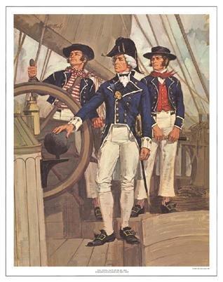 Tom McNeely Art Print The Royal Navy -War of 1812
