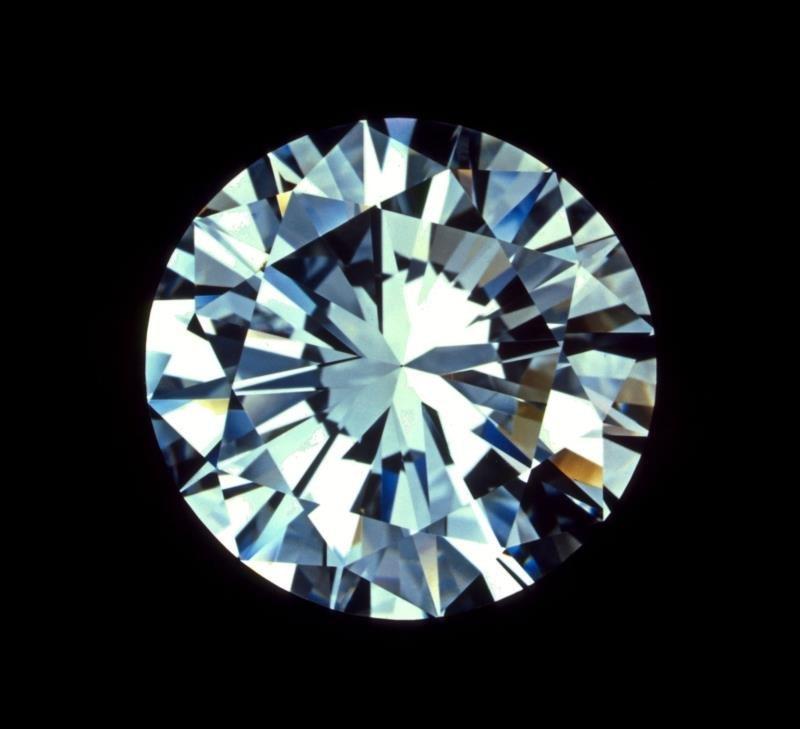 Bianco 4 carat Round Brilliant Cut Diamond