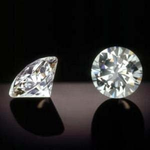 Bianco Pair 2 Ct. Round Brilliant Cut Diamonds