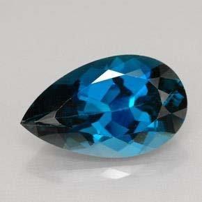 9.23ct London Blue Topaz~ size 17.71 x 10.66 x 7.2
