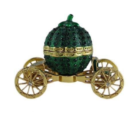 Faberge Jewelry Trinket Box Bejeweled