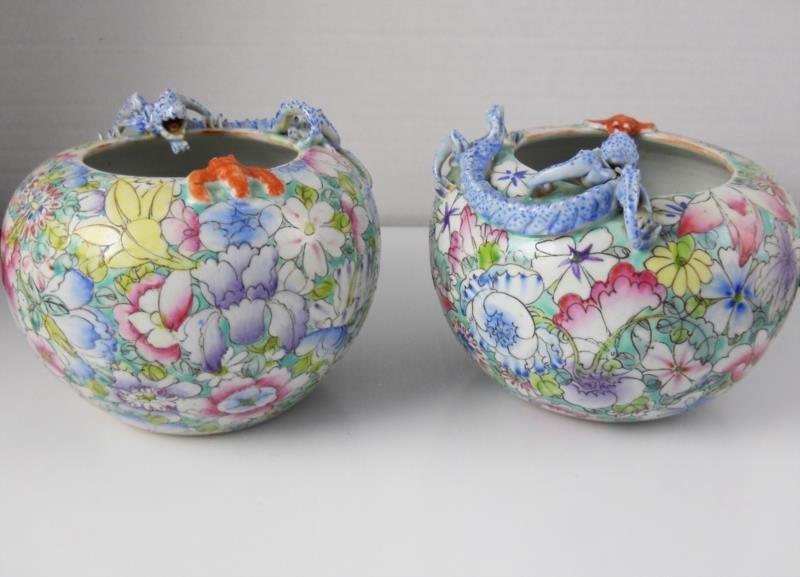 Set of Two Asian Porcelain Bowls