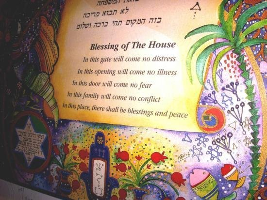 Blessing Of The House By Abecossis