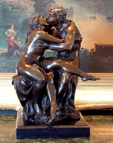 Gorgeous Bronze Sculpture Lovers