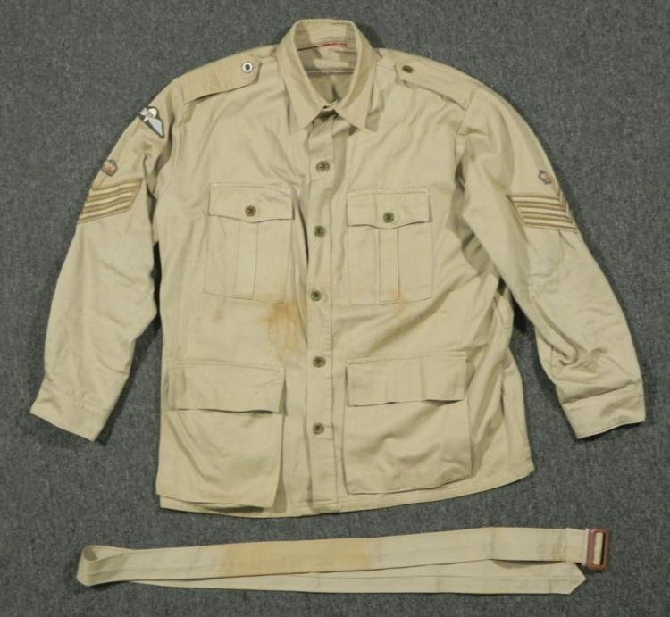 WWII CANADIAN PARATROOPERS JUNGLE BUSH JACKET-
