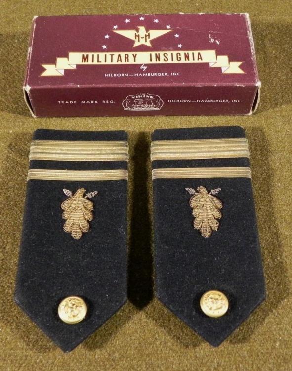 Military Insignia US Naval Boards Pair in Original Box