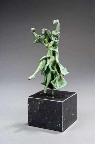 Dali Carmen Bronze Sculpture -Clot Collection