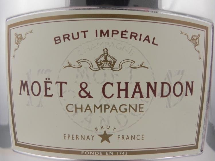 Brut Imperial Moet & Chandon Champagne Ice Bucket - 2