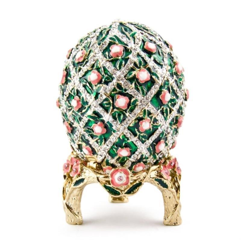 Rose Lattice Style Faberge Inspired Egg
