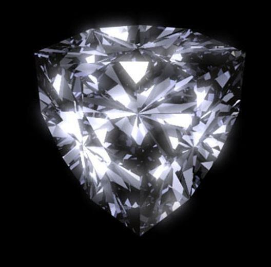Bianco 4 Carat Trillion Cut Diamond