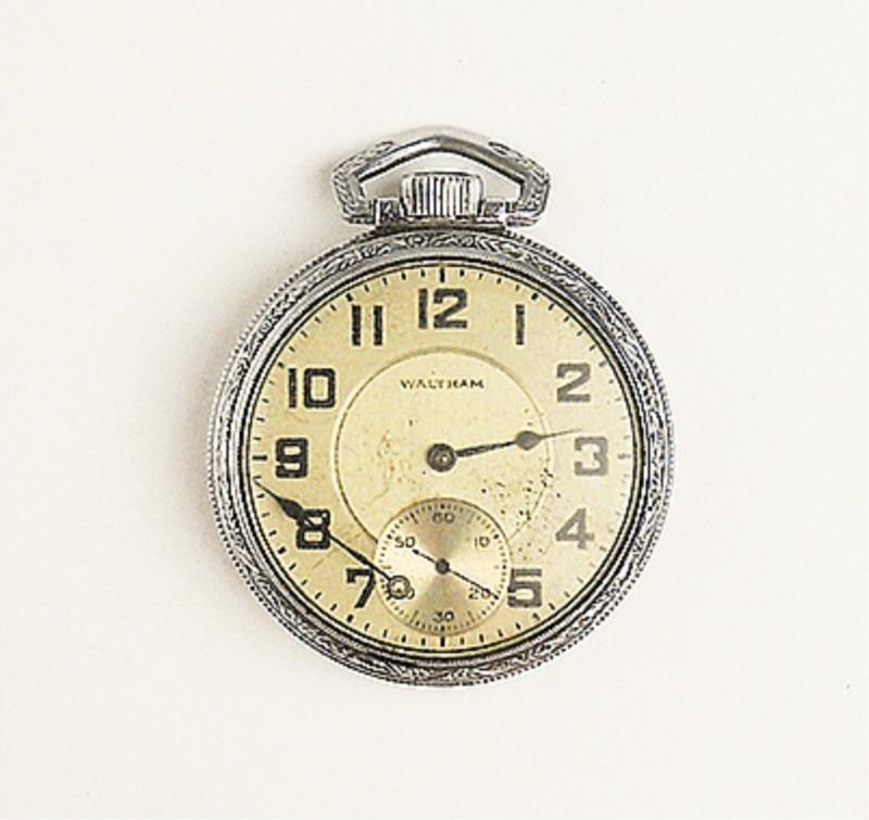 Men's Old Waltham Pocket Watch