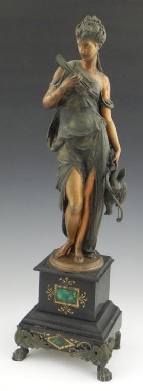 Patina Figure of Diana