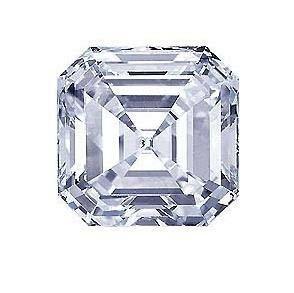 4 Ct. Asscher cut BIANCO diamond