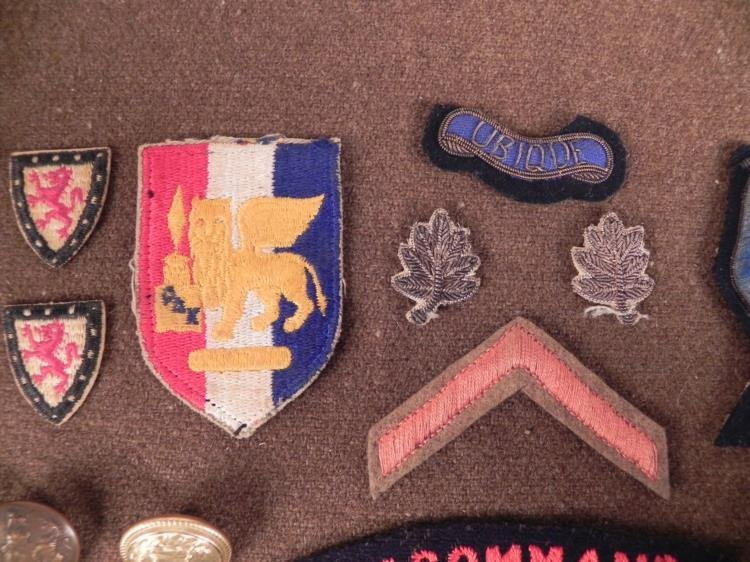 VINTAGE COLLECTION OF BRITISH & SWEDISH PATCHED, INSIGN - 3