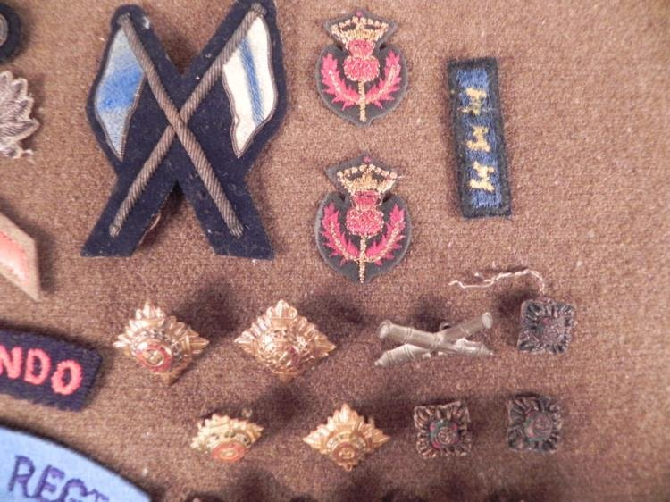 VINTAGE COLLECTION OF BRITISH & SWEDISH PATCHED, INSIGN - 4