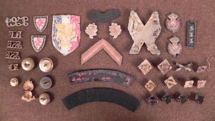 VINTAGE COLLECTION OF BRITISH & SWEDISH PATCHED, INSIGN - 5