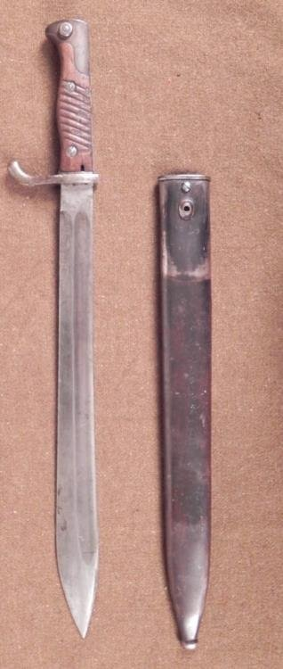 GERMAN WWI M1898/05 BUTCHER BAYONET BY ALEX COPPEL