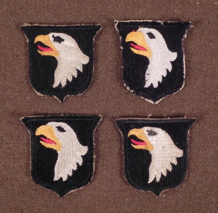 WWII AIRBORNE SCREAMING EAGLES PATCHES-101ST AIRBORNE