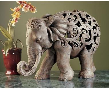 Asian Elephant Sculpture