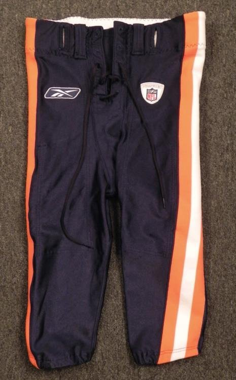 Chicago Bears Game Used Football Pants Sz 34