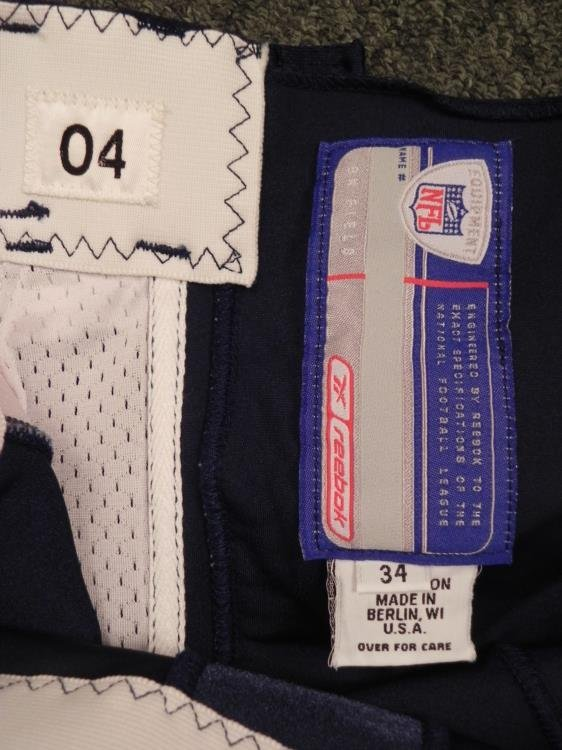Chicago Bears Game Used Football Pants Sz 34 - 3