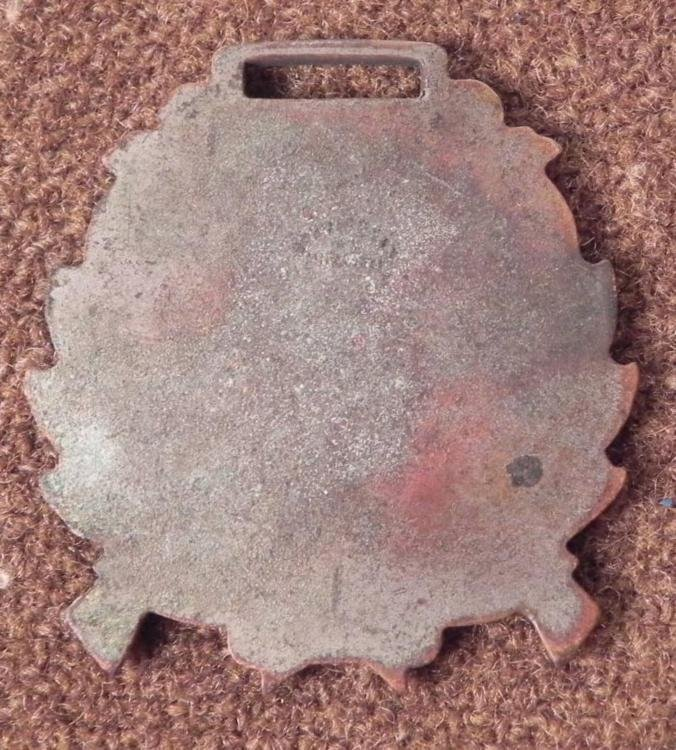1907 STATE NATIONAL GUARD ENCAMPMENT-US MEDAL/FOB - 2